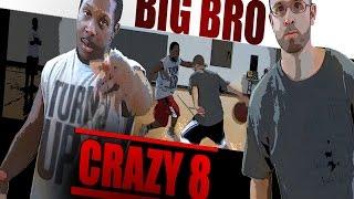1v1 basketball, Game 094 (Big Brother vs Crazy 8)   V1F