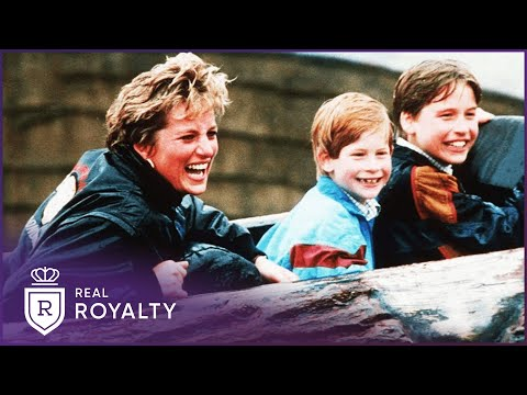 William & Harry After Diana s Death My Mother Diana Real Royalty With Foxy Games