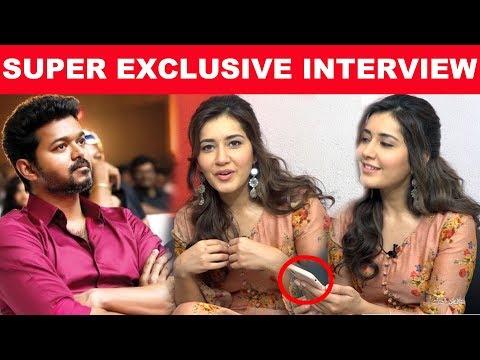 Xxx Mp4 My Favorite Actor Thalapathy Vijay Rashi Khanna Exclusive Interview Adanga Maru Kalakkalcinema 3gp Sex