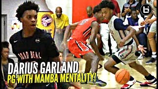 Flashy Guard Darius Garland Vision Is CRAZY!! Official Summer Mixtape!