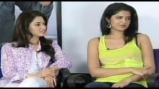 Tamanna & Deeksha Seth Interview - Rebel - Part 1