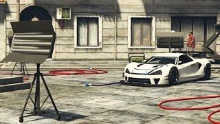 NIEUWE BENNY'S AUTO PIMPEN! (GTA V Online Freeroam Progen Itali GTB)