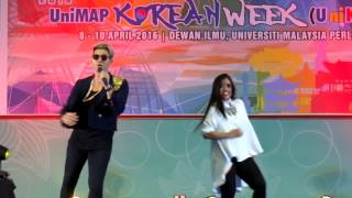 BABY I NEED YOU(KOREA VERSION)- DIOR ,I-ENVEX & ‪#‎UniMAP‬ ‪KOREAN WEEK,PERLIS 10042016 [HD]