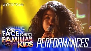 Your Face Sounds Familiar Kids: Lyca Gairanod as Lolita Carbon - Masdan Mo Ang Kapaligiran