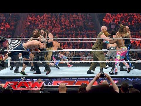 Xxx Mp4 John Cena Enzo Amore Big Cass The New Day Vs The Club The Wyatt Family Raw July 18 2016 3gp Sex