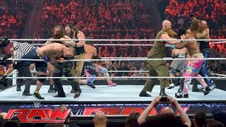 John Cena, Enzo Amore, Big Cass & The New Day vs. The Club & The Wyatt Family: Raw, July 18, 2016