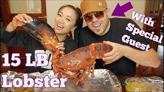 15lb LOBSTER MUKBANG (*Lets Eat) | SASVlogs *Featuring Hubby