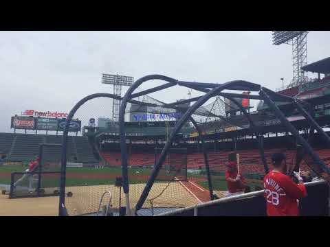 Xxx Mp4 Triston Casas Boston Red Sox 2018 First Round Draft Pick Takes BP At Fenway Park June 23 2018 3gp Sex