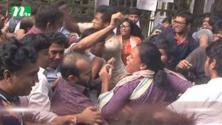 Clash among DU teachers and students