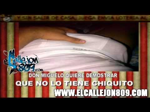 Los Cirqueros tiran Foto que mando Don Miguelo pa que vean que no lo tiene chikito