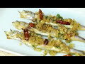HEAD TO TAIL EATING - GRILLED CAPELIN FISH WITH ROE RECIPE - Cooking with Chef Dai