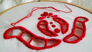 Hand Embroidery: Cut work