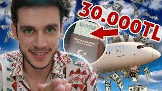 30.000TL UÇAK BİLETİ!