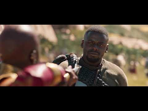 Black Panther - OKOYE SAFE M'BAKU FROM THE RHINO (HD)