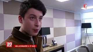 Nick D'Aloisio : Millionnaire à 17 ans, avec son application Summly