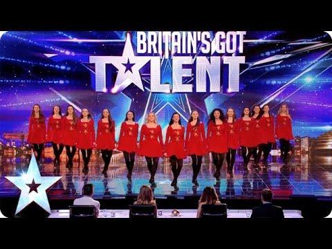 Irish dancers surprise the Judges with their modern twist | Britain's Got Talent 2014