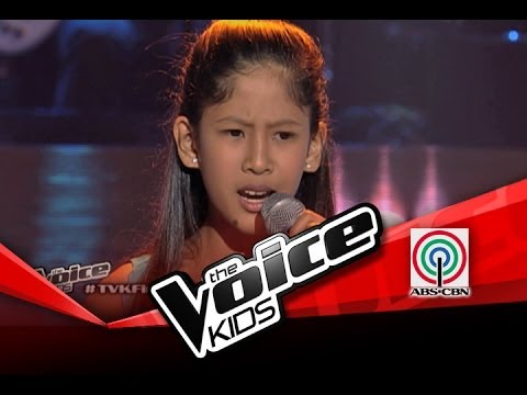 "The Voice Kids Philippines Blind Audition ""Lipad ng Pangarap"" by Hannah Mae"