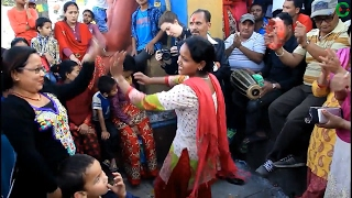 Authi Chino Chha New Live Lok Dohori Ghamsa Ghamsi at Swayambhu| Channel Gorkha |