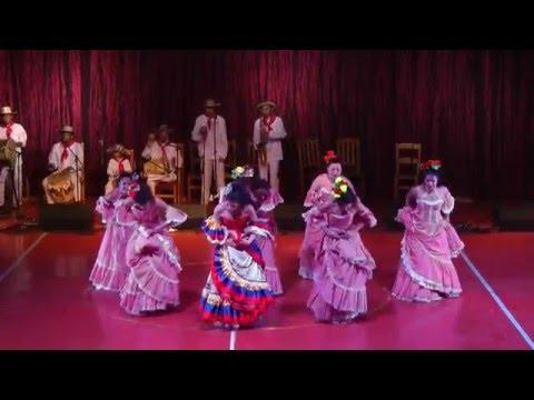 Colombian folk dance Cumbia