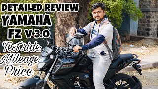 Yamaha Fz V3.0 Complete Review