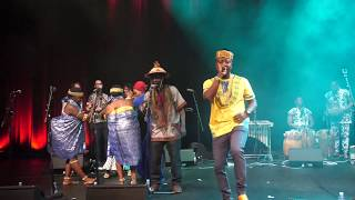 FLOWKING STONE LIVE PERFORMANCE   AT BERLIN WORLD HOUSE OF CULTURE (HKW)