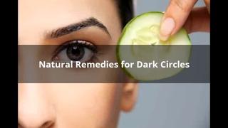 How to Rid of Dark Circles Under Eyes Naturally