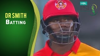 HBL PSL Final - Islamabad United vs Quetta Gladiators - DR Smith Batting