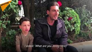 Syria: Boy in White Helmets FAKE Chemical Attack Video Reveals Truth