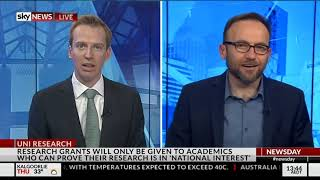 Adam Slams The Liberals For Continuously Attacking Research And Academic Freedom