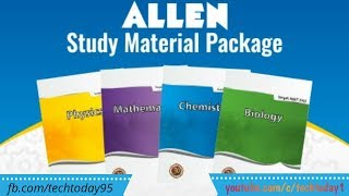 Download Allen DLP Study Material Biology Physics Chemistry for Pre-medical free