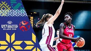 LIVE 🔴- Latvia v Canada - FIBA U17 Women's Basketball World Cup 2018