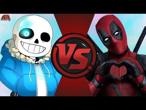 SANS vs DEADPOOL! (Undertale vs Marvel)