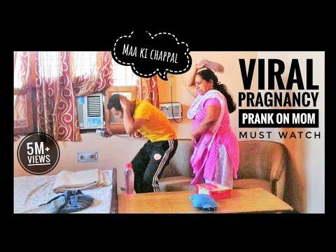 Pregnancy Prank on Mom (Gone Wrong ) | Pranks in india | ANB Team