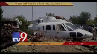 Maharashtra CM Devendra Fadnavis survives chopper crash in Latur - TV9