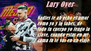 Lary Over Ft. Darell - Soy El Mejor (Letra Oficial)