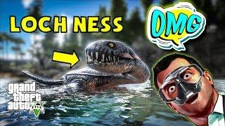 Tìm Quái Vật Hồ Loch Ness Truyền Thuyết Trong Gta5(Plesiosau)