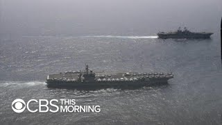 USS Abraham Lincoln deployed amid tensions with Iran