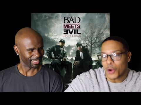 Bad Meets Evil - Fast Lane ft. Eminem, Royce Da 5'9 (REACTION!!!)