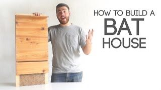 How To Build A Bat House | Modern Builds | EP. 41