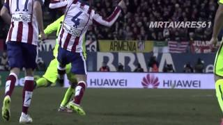 Barcelona vs Atletico Madrid - Fights, Brawls, Fouls & Red cards | Part 1 HD