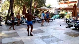 Nude and sexy Dancer, Dance at — at Utopya Otel Alanya.