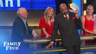 You may now STRIP the BRIDE? | Family Feud