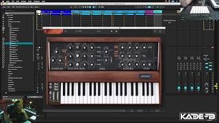 Melodic Techno Production Techniques - Ableton Live 9 Tutorial 01