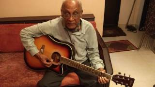 SHOLEY TITLE THEME / ORIGINAL GUITAR PLAYED BY BHANU DA - 1975 / FROM R D BURMAN'S TEAM