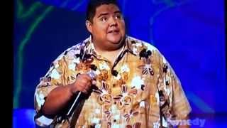 Gabriel Iglesias on just for laughs not 100% sure on the date. It's got fluffy & drive-thru bits