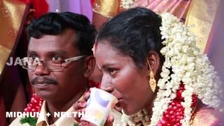 Kerala wedding video Midhun weds Neethu