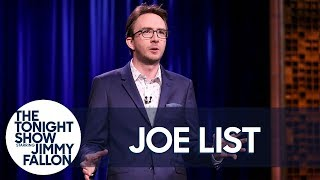 Joe List Stand-Up