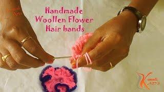 Download Handmade Woollen Hair band # Komali Arts 3Gp Mp4