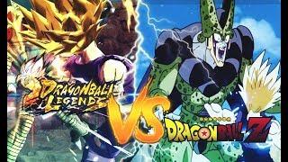 DRAGON BALL LEGENDS VS DRAGON BALL Z   Les Incroyables références!