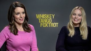 "Watch Margot Robbie, Tina Fey and the Cast of 'Whiskey Tango Foxtrot' Play ""Would You Rather"""